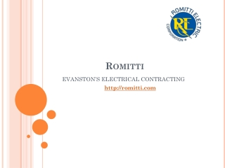 Electricians and Electrcial contractor