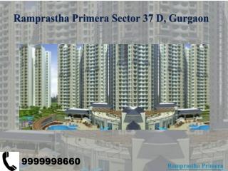 Ramprastha Primera Sector 37D Gurgaon - Ramprastha New Proje