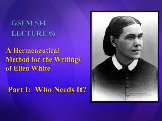 GSEM 534 Lecture 6