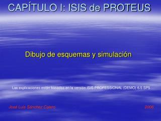 CAP TULO I: ISIS de PROTEUS