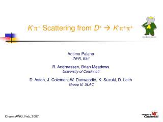 K- Scattering from D  K-