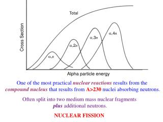 One of the most practical nuclear reactions results from the  compound nucleus that results from A230 nuclei absorbing n