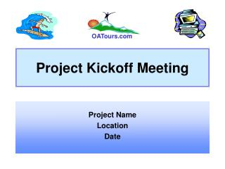 Project Kickoff Meeting