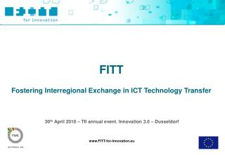 30th April 2010   TII annual event. Innovation 3.0   Dusseldorf