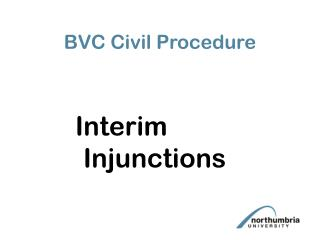 bvc civil procedure