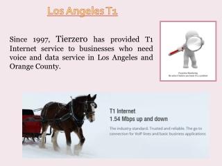 T1 Service Los Angeles