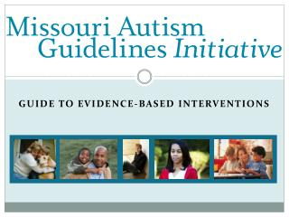 Guide to evidence-based interventions