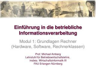 Einf hrung in die betriebliche Informationsverarbeitung