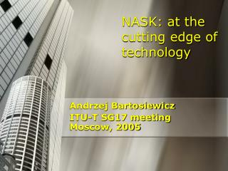 NASK: at the cutting edge of technology