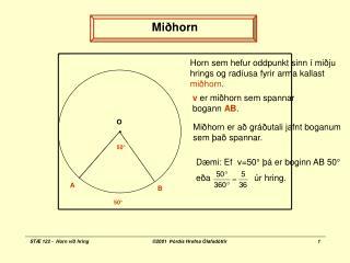 Mi horn