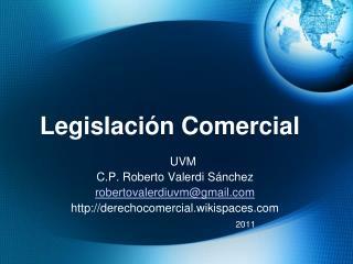 Legislaci n Comercial
