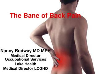 The Bane of Back Pain