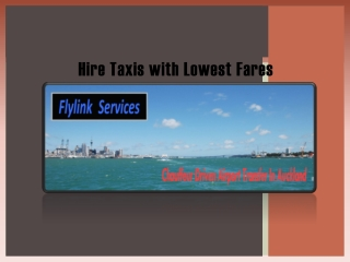 South Auckland taxis