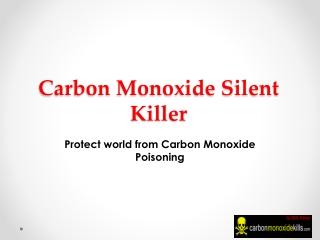 Silent Killer Carbon Monoxide