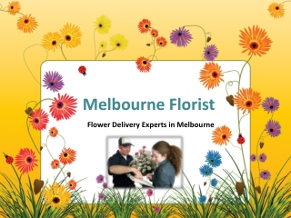Flower Delivery Experts in Melbourne