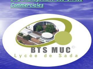 BTS Management des Unit s Commerciales