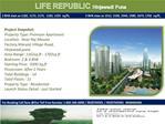Life Republic at Hinjewadi Pune by Kolte Patil Developers