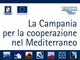 Programma Progetti Paese di Partenariato  Regione Campania  e Paesi Terzi del Mediterraneo  Egitto, Israele, Marocco, Tu
