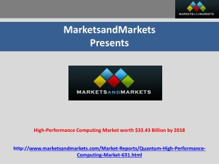 High-Performance Computing Market worth $33.43 Billion by 20