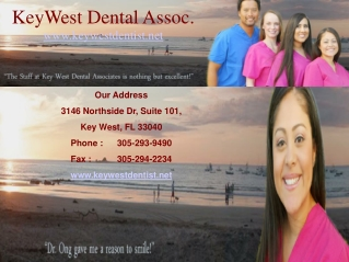 Dentistry Key West FL � Dr. James N. Ong, D.M.D