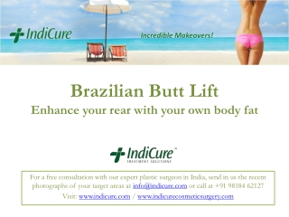 Brazilian Butt Lift in India