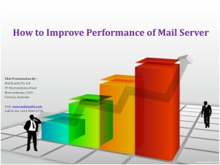 How to Improve Performance of Mail Server