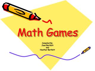 Math Games Powerpoint button