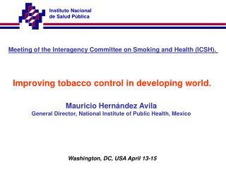 Instituto Nacional  de Salud P blica