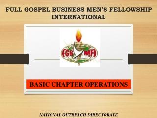 full gospel business men