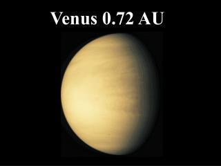 Venus 0.72 AU