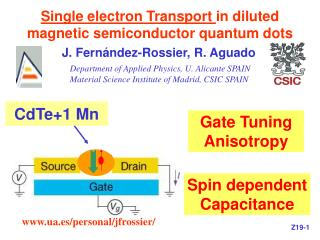 Single electron Transport in diluted magnetic semiconductor quantum dots