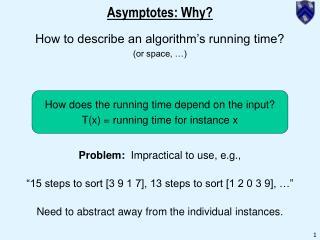 Asymptotes: Why