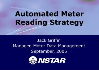 Automated Meter Reading Strategy