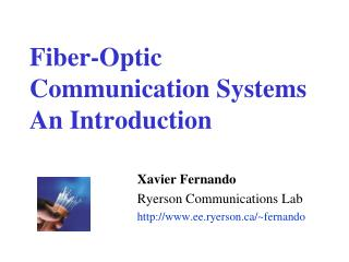 Fiber-Optic Communication Systems  An Introduction