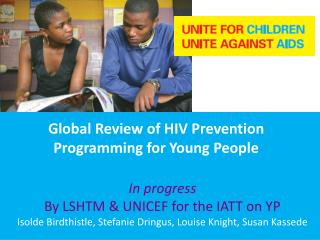 Global Review of HIV Prevention Programming for Young People