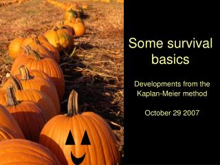 Some survival basics
