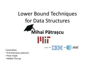 Lower Bound Techniques for Data Structures