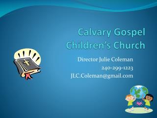 Calvary Gospel Children s Church