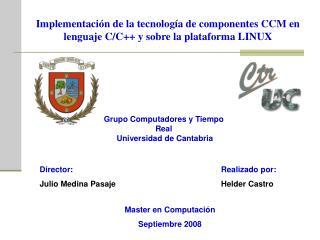 Implementaci n de la tecnolog a de componentes CCM en lenguaje C
