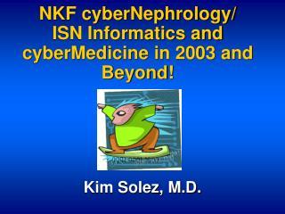 NKF cyberNephrology