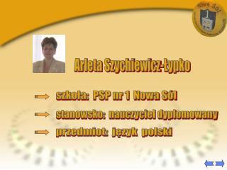 Arleta Szychiewicz-Lypko