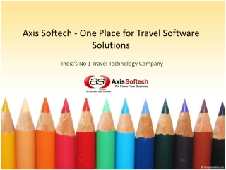 Axis Softech - One Place for Travel Software Solutions