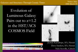 Evolution of Luminous Galaxy Pairs out to z1.2  in the HST