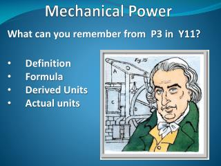 Mechanical Power