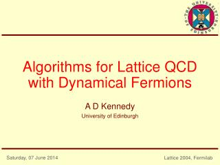Algorithms for Lattice QCD with Dynamical Fermions