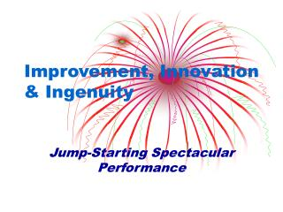 Improvement, Innovation  Ingenuity