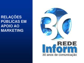 RELA  ES P BLICAS EM APOIO AO MARKETING