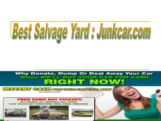 salvage yards