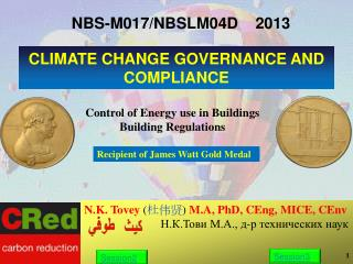 N.K. Tovey  M.A, PhD, CEng, MICE, CEnv                           .. .., -