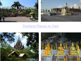 Thailand Places to Visit